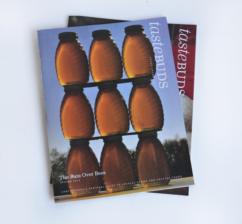 Tastebuds publication design covers