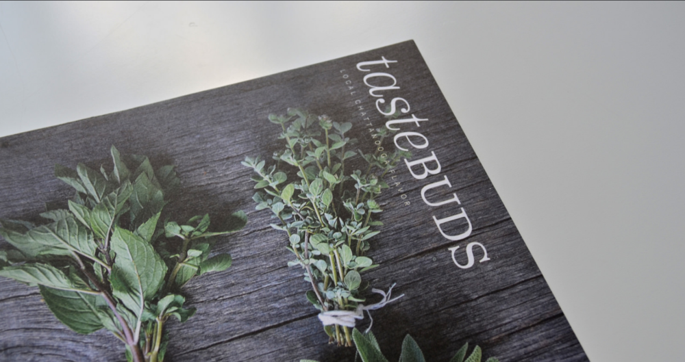 Tastebuds Magazine Layout Publication Design