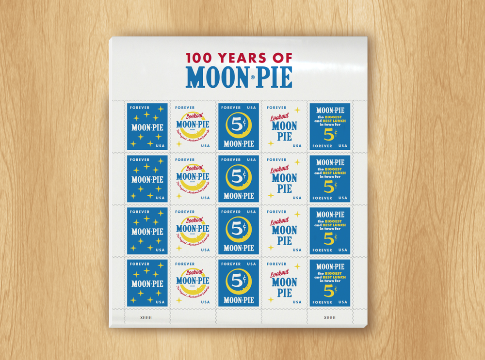 Graphic Design for Moonpie Stamps