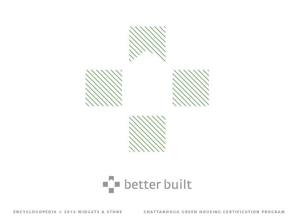 Better Built logo mark brand design