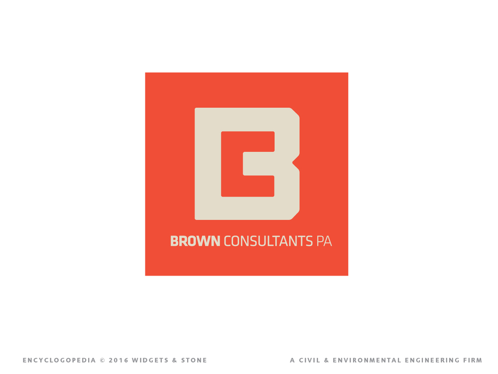 Copy of Graphic Design for Brown consultants