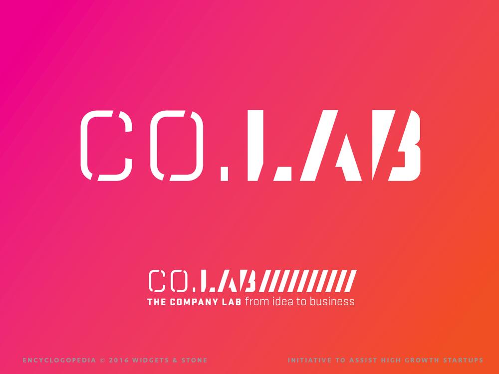 CO. Lab The Company Lab logo brand design concept