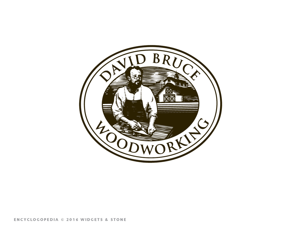Copy of David Bruce Woodworking design logo