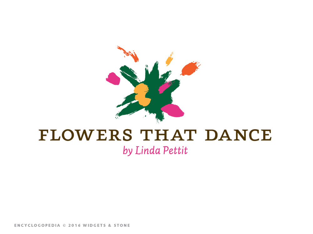 Flowers that dance logo mark