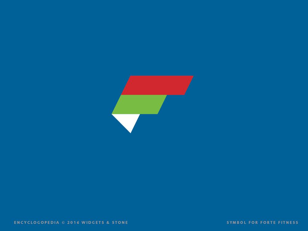 Forte Fitness brand logo mark