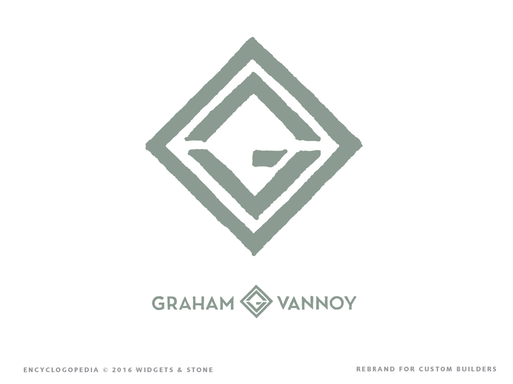 Graham Vannoy logo design strategy