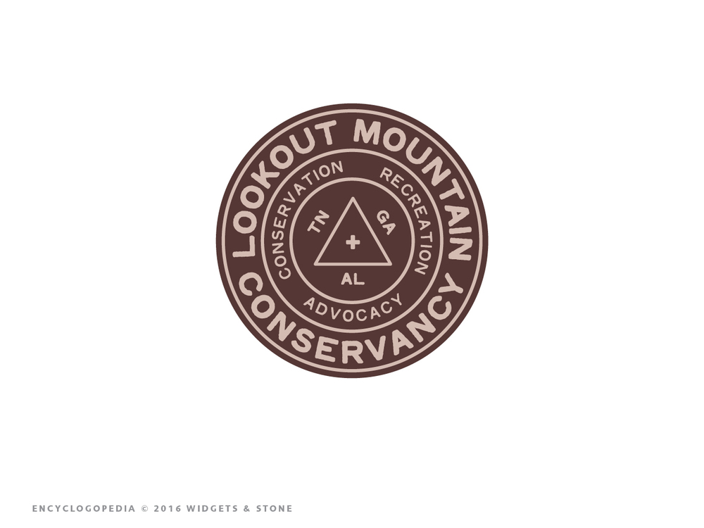 Copy of Lookout Mountain Conservancy logomark logo design