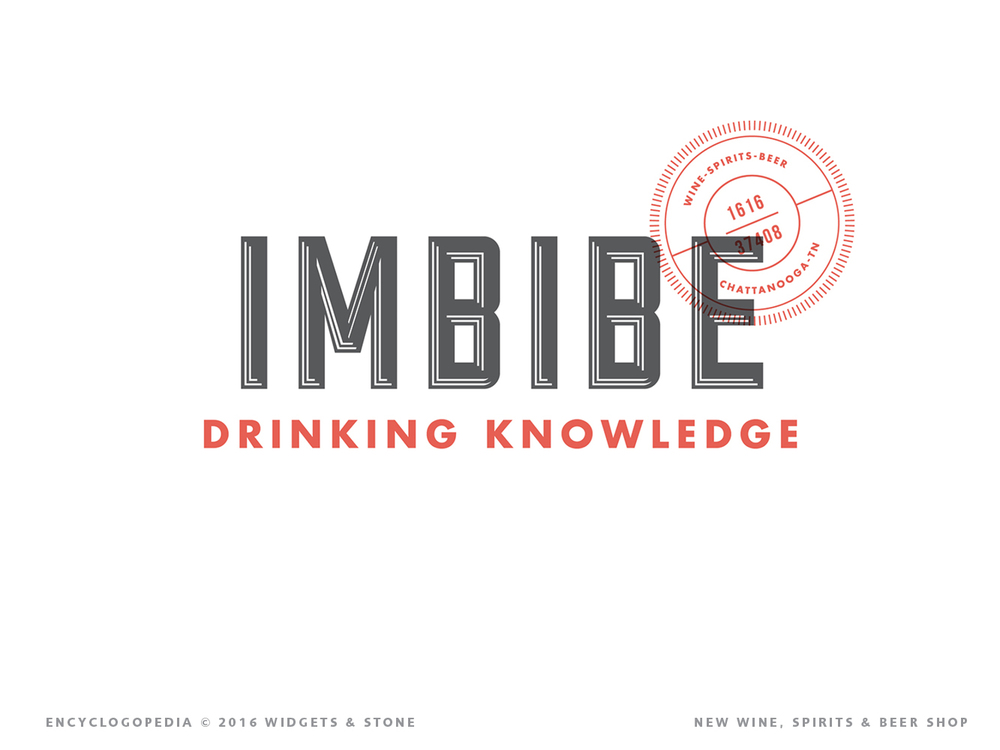 Graphic Design for Chattanooga, TN's Imbibe brand logo