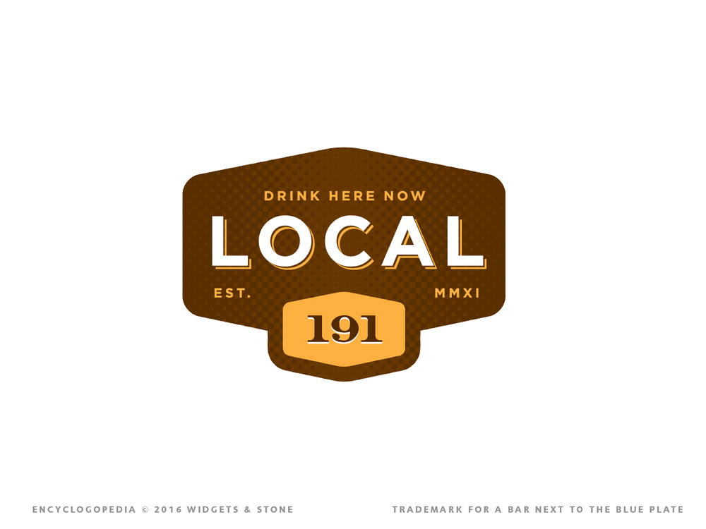 Copy of Local 191 brand logo design
