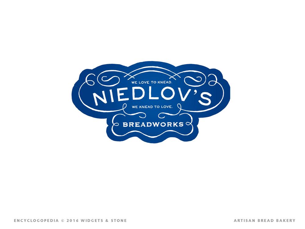 Graphic Design for Niedlov's illustrated logo