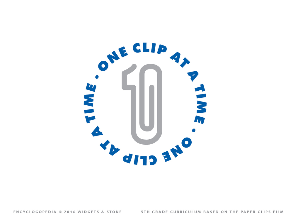 One clip at a time logo design