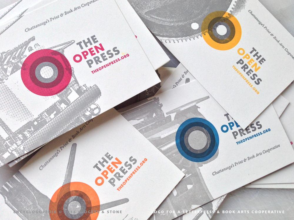 Copy of The open press logo concept