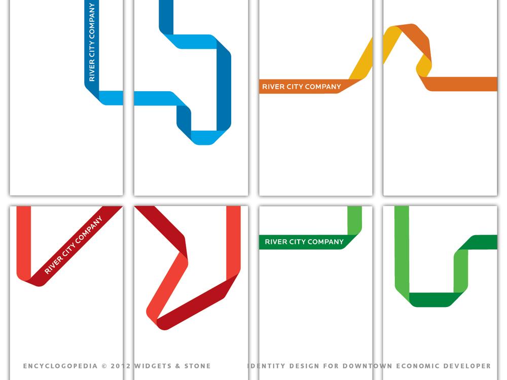 River City Company brand identity design