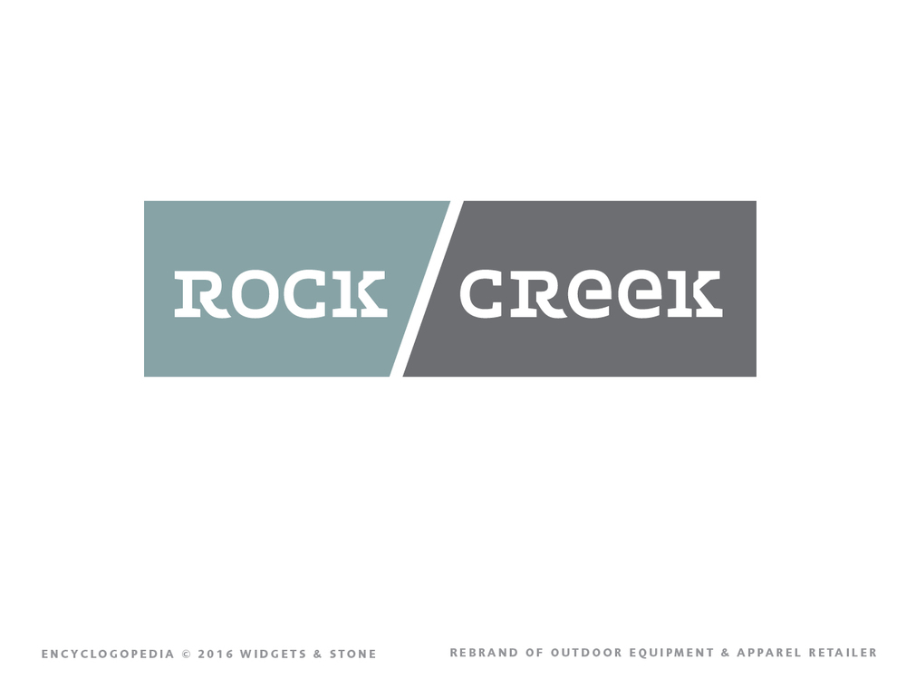 Graphic Design for Logo - Rock Creek Outdoor Chattanooga, TN