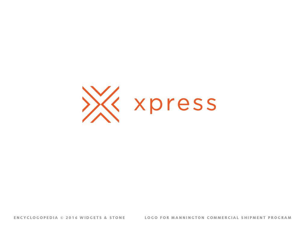 Xpress logo service design