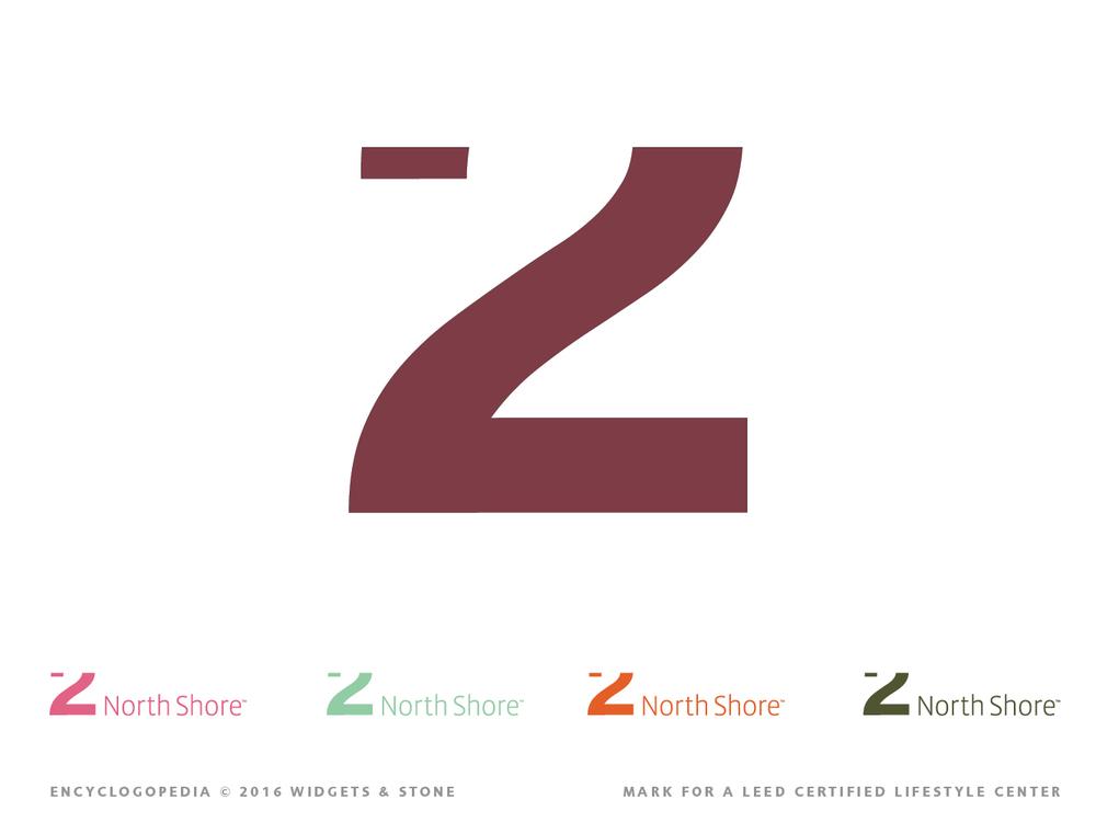 2 Northshore designed graphic logo