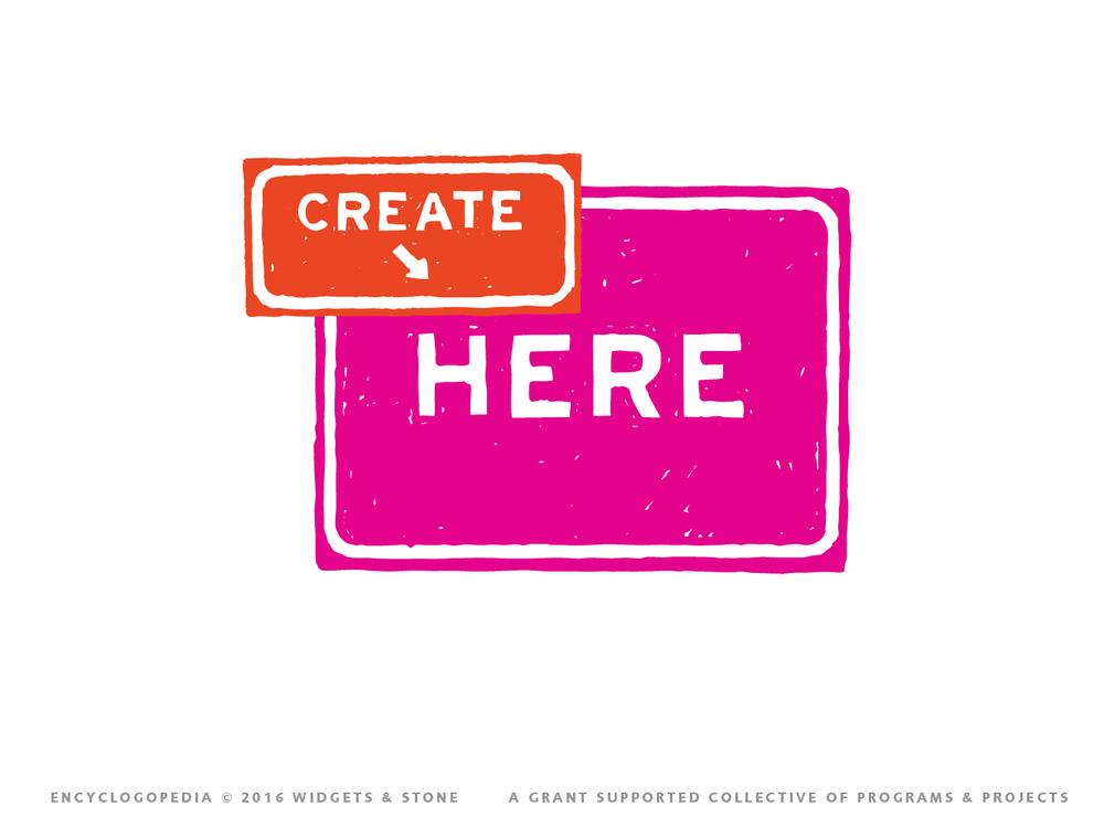 Create Here logo mark