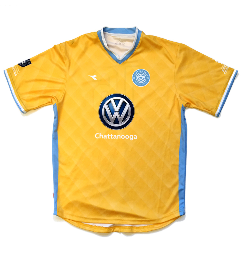 Chattanooga Football Club Branded Jersey
