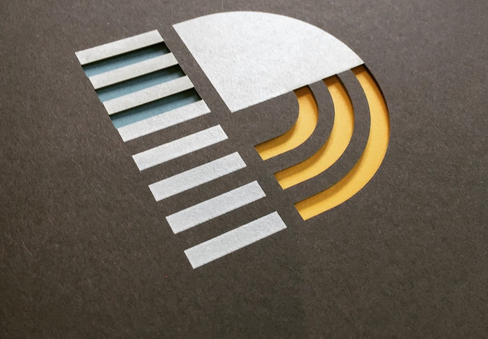 Copy of Innovation District of Chattanooga Die Cut logo Design