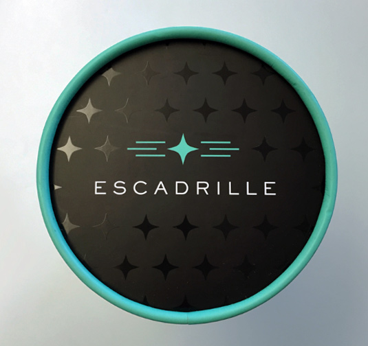 Copy of Escadrille Packaging Design Print Design