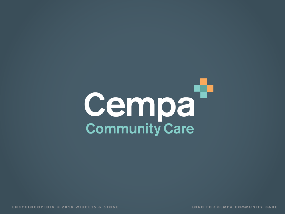 Cempa Community Care Logo Brand Identity Graphic Design