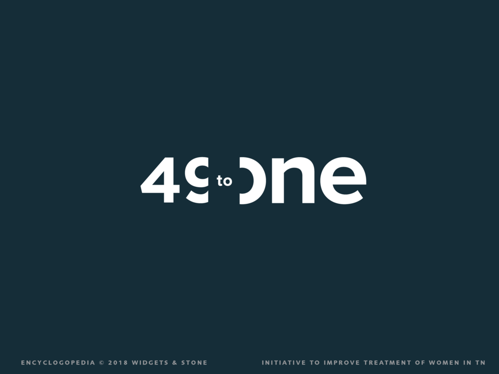 49 to One Logo Graphic Design