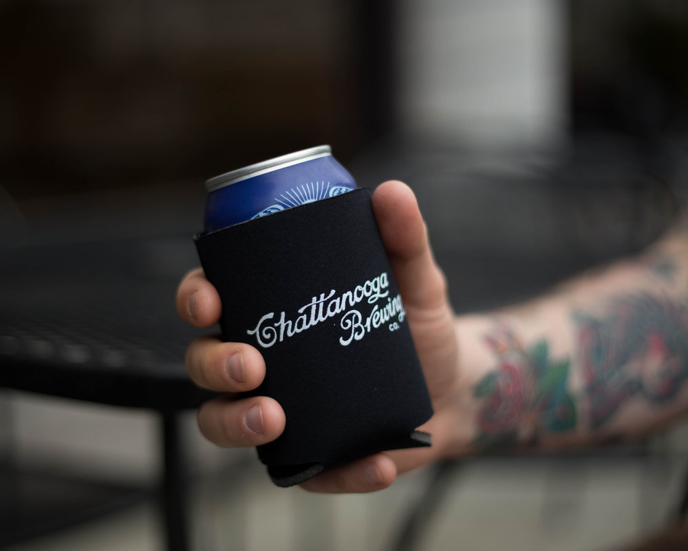 Chattanooga Brewing Branded Koozie Cooler