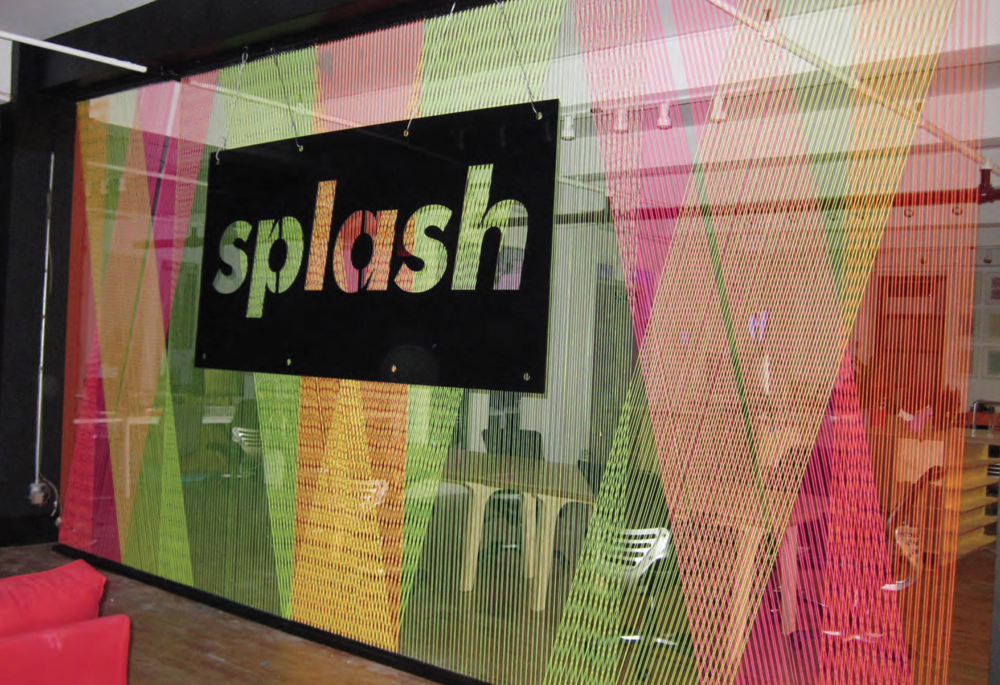 Splash, Signage, Fabrication / Installation