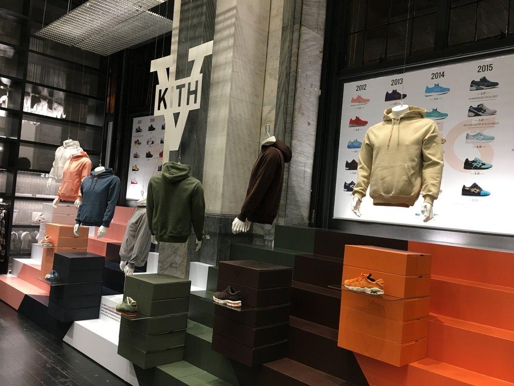 Kith SoHo, 5 Year Anniversary Release, Installation, Production