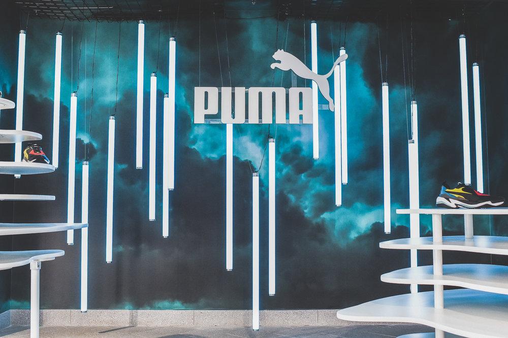 KITH x Puma Thunder