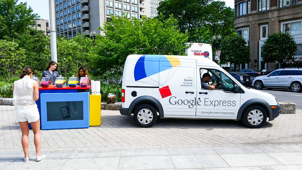 Google Express Vehicle