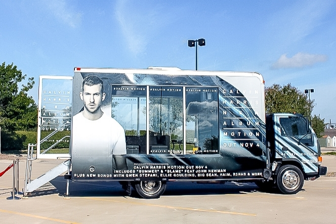 Calvin Harris Promotional Vehicle