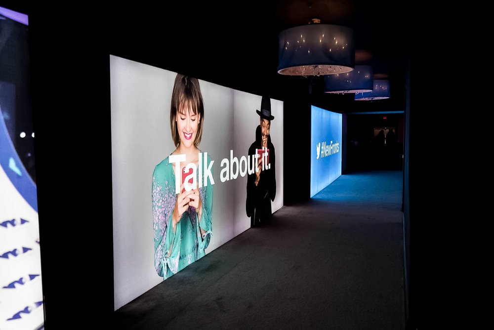 SEG Lightboxes / Project: Twitter Newfront