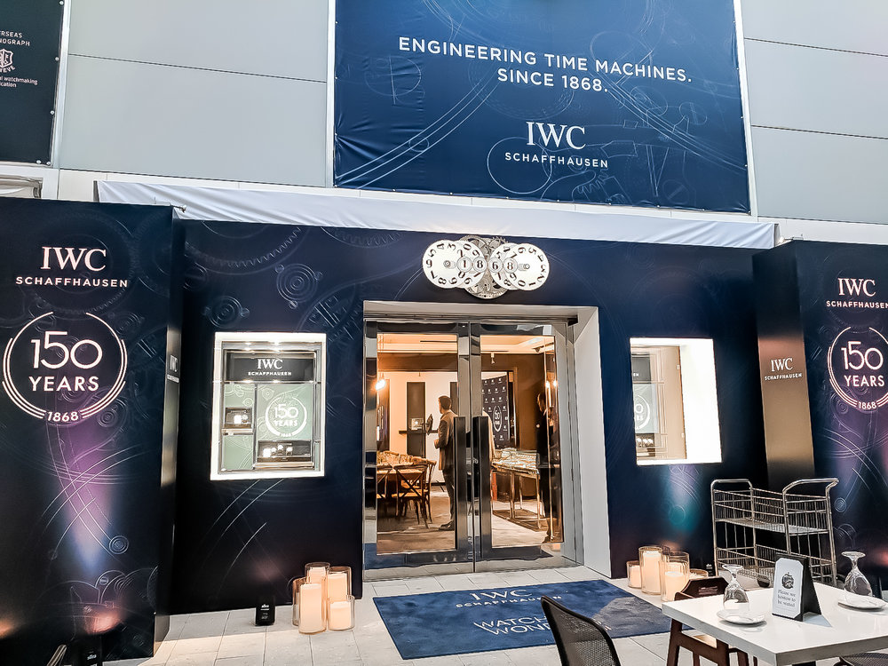 IWC    Design  / Event Installation / Print Production