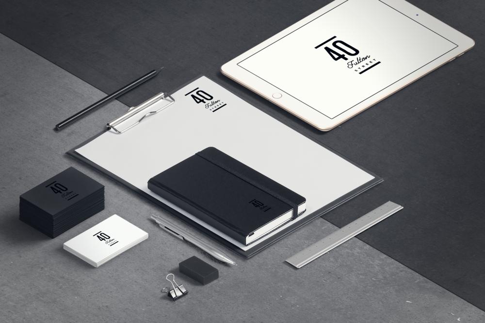 Project: 40 Fulton Street Brand Identity / Client: Vornado