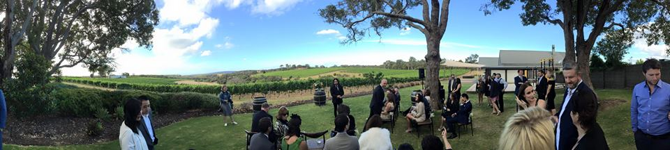 Wedding Location: Wills Domain, Margaret River