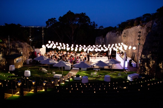 Wedding Location: Quarry Amphitheatre, Perth