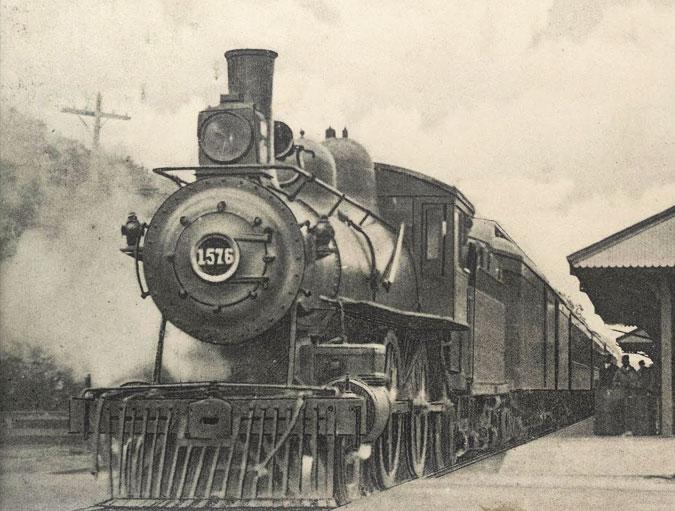 """Flying Dude"" Train, 1916 (1)"