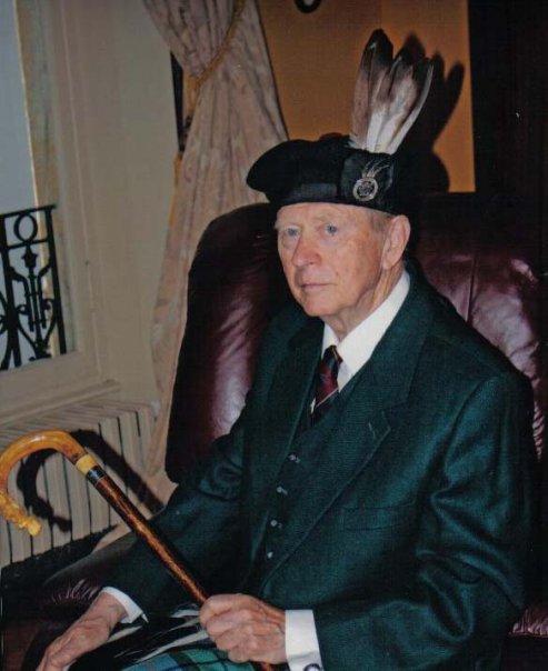 Alistair c.w. forsyth, baron of ethie: chief of clan forsyth