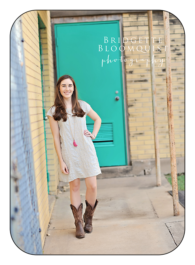 austin tx colorful senior photos