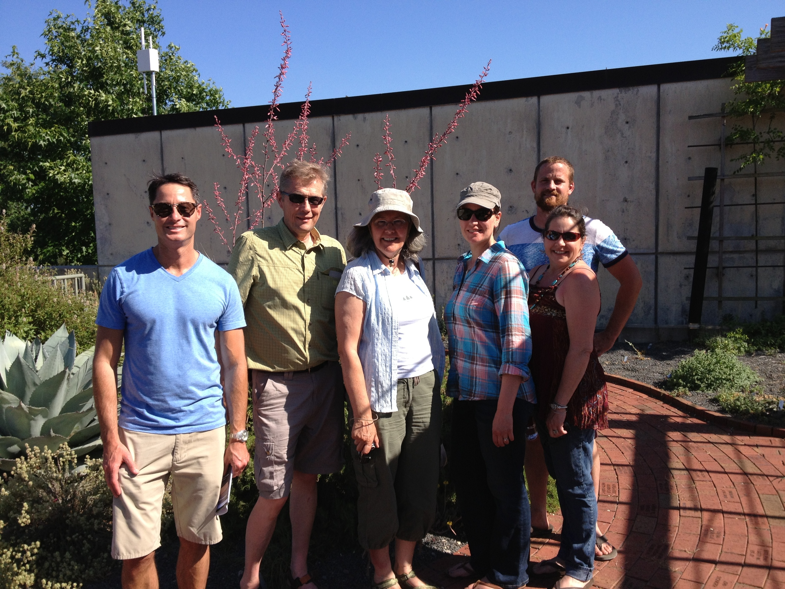 The crew from the Delaware Center for Horticulture.