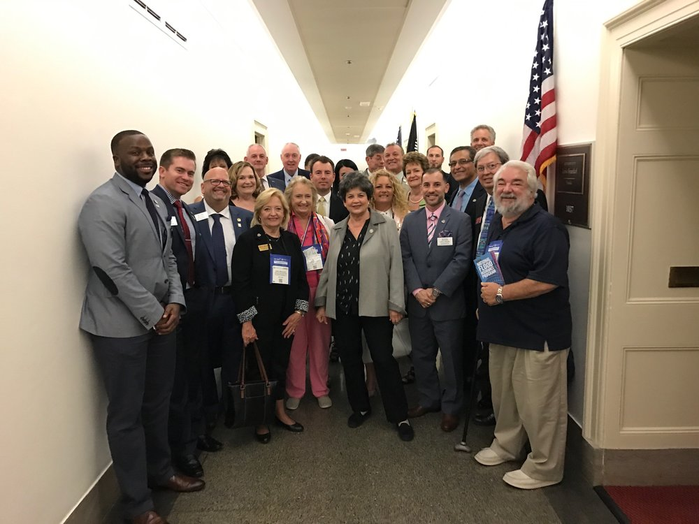 RAPB members with Rep. Lois Frankel (D-West Palm Beach)