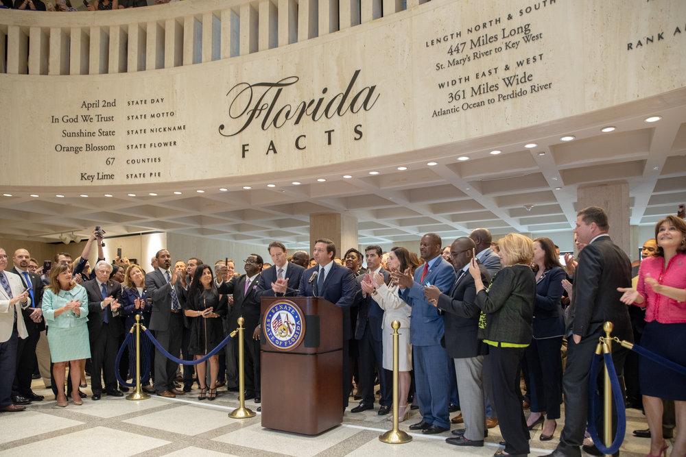 Governor Ron DeSantis Celebrates Sine Die with Florida Legislature  Photo Credit: Governor's Press Office