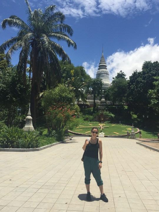 Outside of Wat Phnom