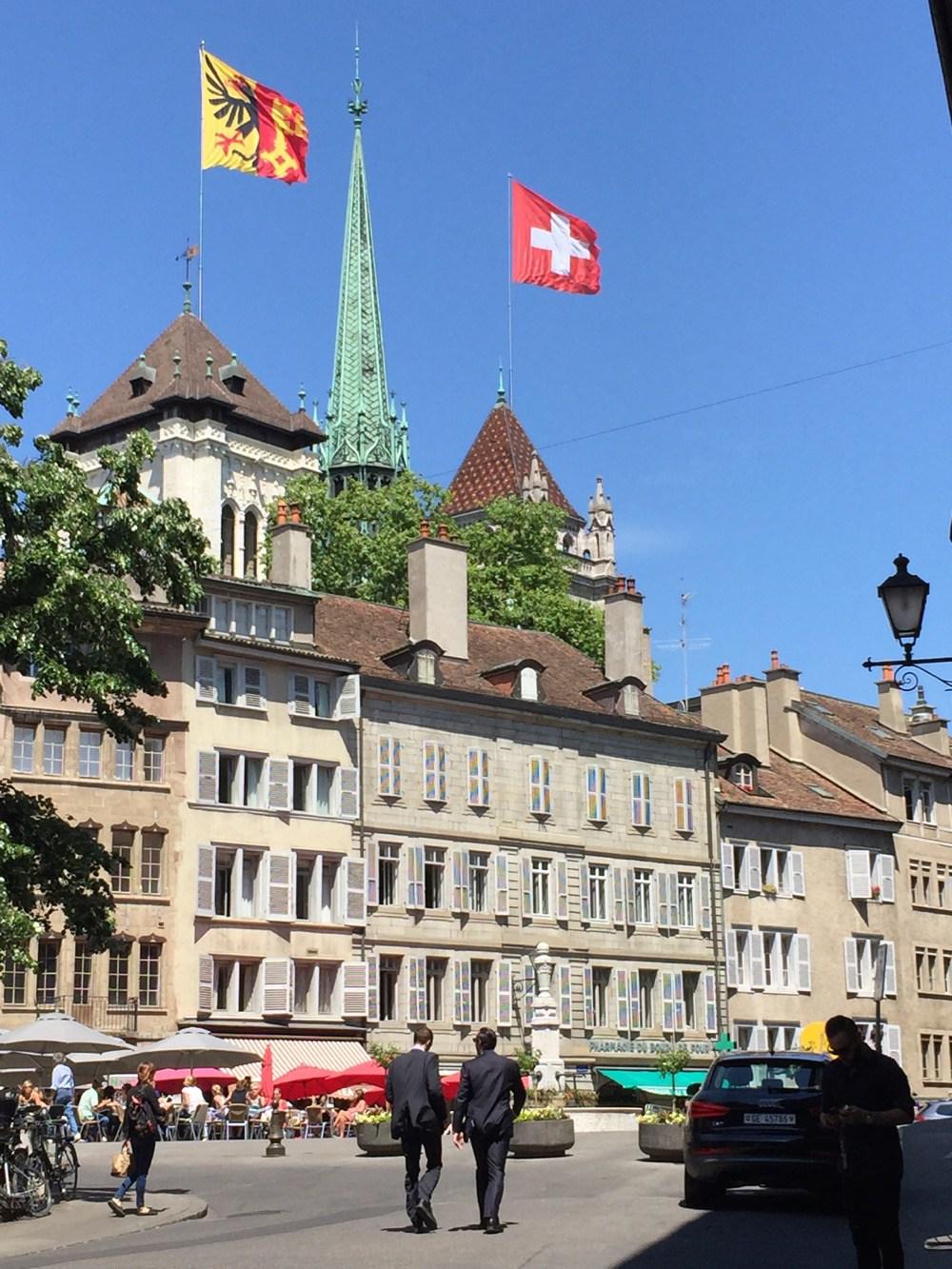 View of Vielle Ville