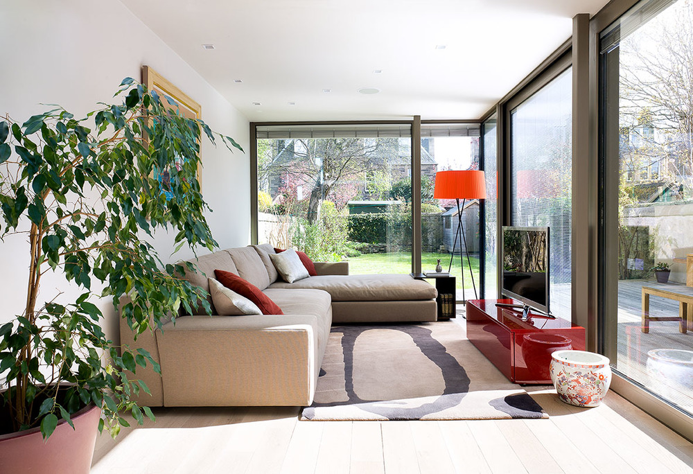 West Savile Road - Sunroom Interior