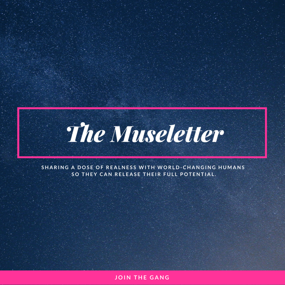 The Museletter by Carolynne Alexander