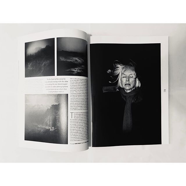 Always so nice to see your work in print! Have just managed to pick up a copy of #blackandwhitephotographymagazine to see my image full page. A bit late for #internationalwomensday but this is an image from a project with my wonderful #mother during her recovery from depression a few years ago. Shot on medium format b&w #kodakfilm from the year I was born (1982!! The film was pretty much flawless)  It was part of the #obsoleteanddiscontinued project which has been touring and will next be in #naples