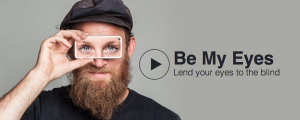be my eyes app helping the blind see remotely