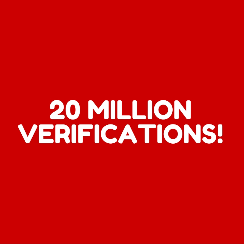 sproxil 20 million verifications